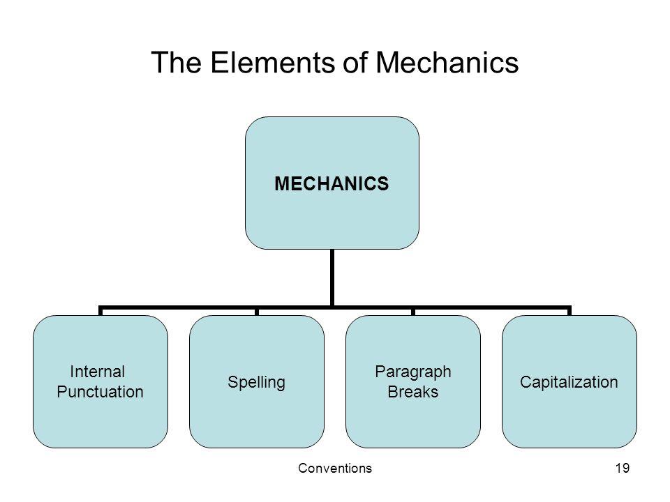 The Elements of Mechanics