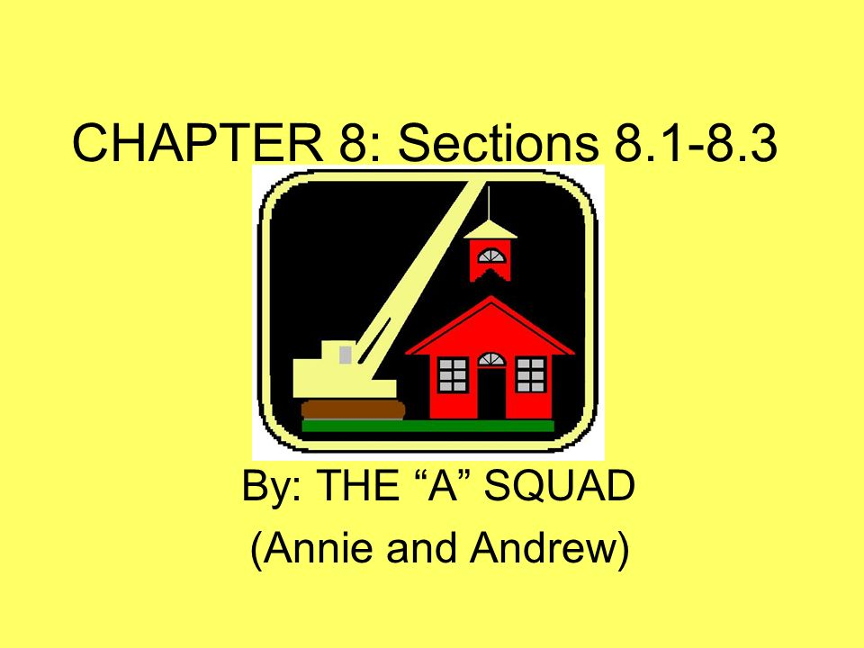 By: THE A SQUAD (Annie and Andrew)