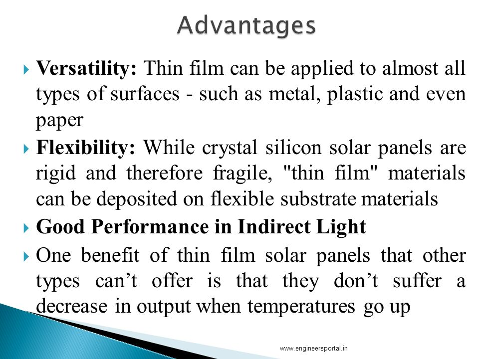 thin film solar cell thesis Morphological studies of organometal halide thin films for  thin film solar cells are important for making photovoltaic technologies affordable and  this thesis .