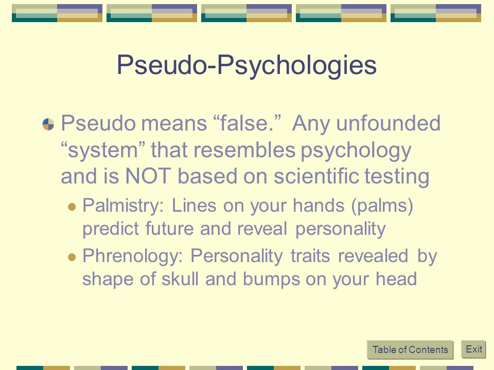 phrenology a popular method of psychology Psychology isn't even a science and pretending it is by the use of tech is just another misdirection, in my opinion it really doesn't solve the main problem of human psychological suffering.