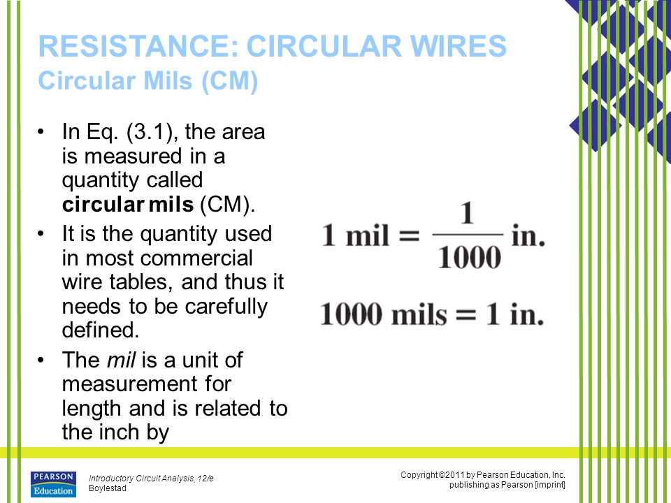 Wire size chart circular mils image collections wiring table and resistance ppt video online download resistance circular wires circular mils cm keyboard keysfo image collections keyboard keysfo Images