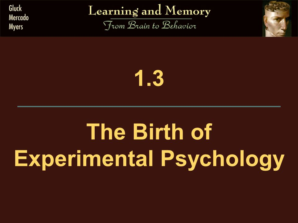 the birth of modern psychology Psychology in greek philosophy victor  decade before his birth that the persons invaded and  contributed most to the development of modern.