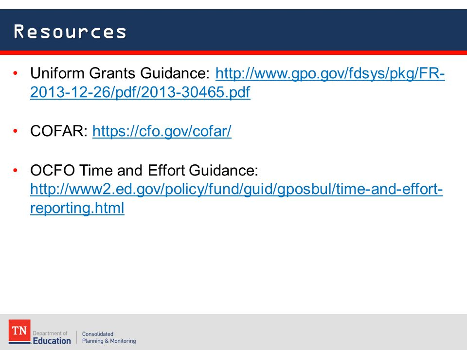 ugg uniform grant guidance