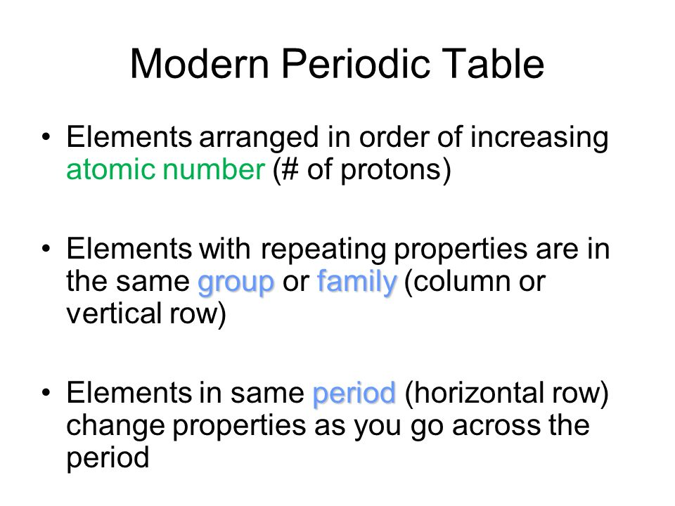 periodic table elements are arranged in order of increasing images periodic table elements are arranged in - Modern Periodic Table Elements Arranged According