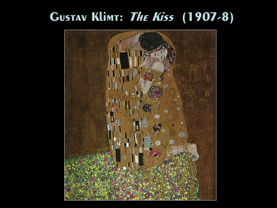 Gustav Klimt: The Kiss (1907-8)