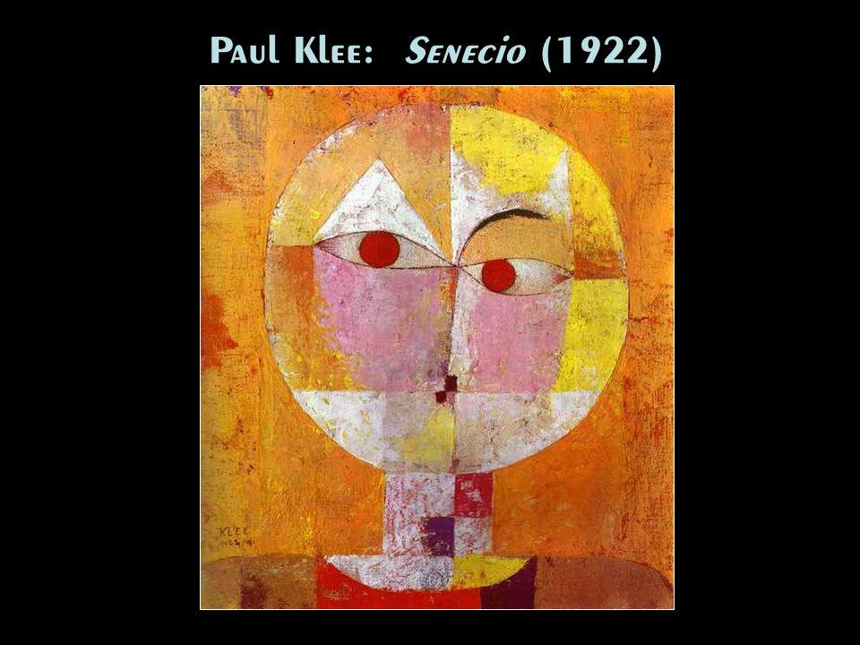 Paul Klee: Senecio (1922)