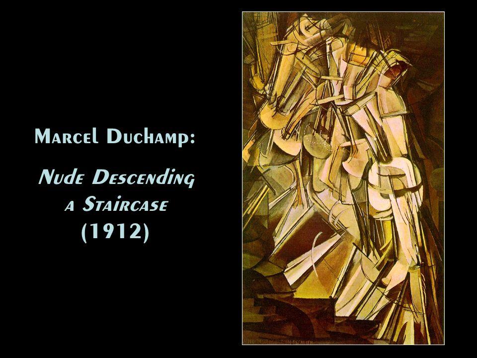 Nude Descending a Staircase (1912)