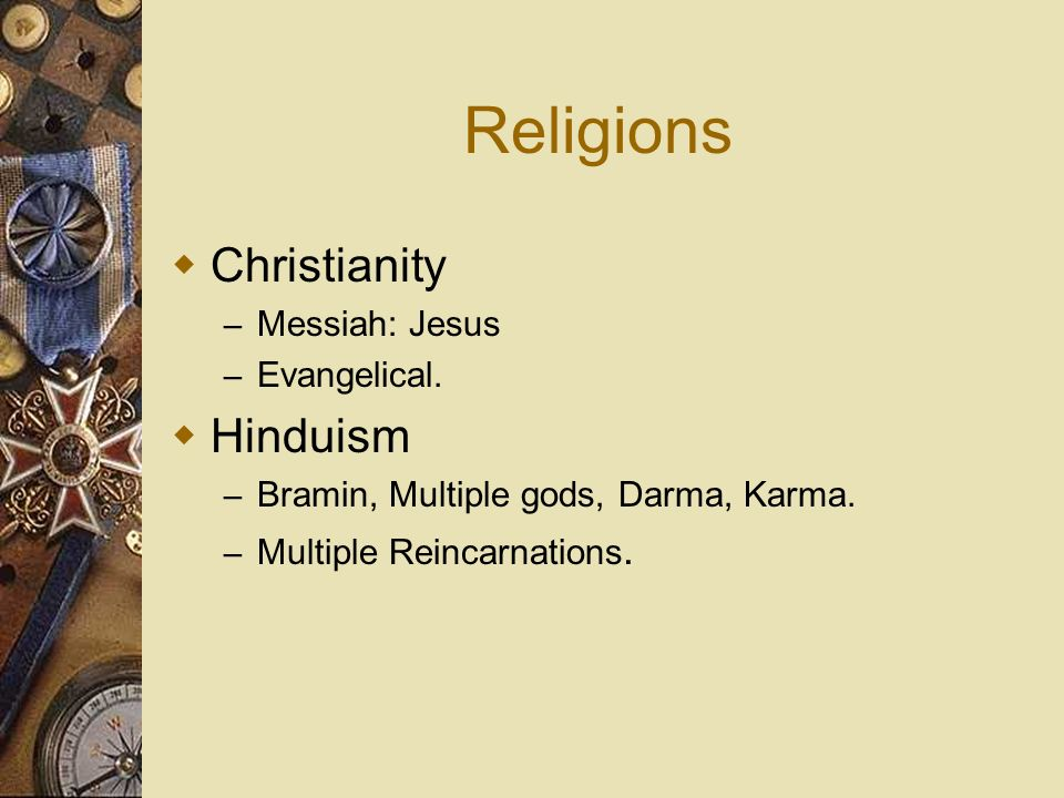 Religions Christianity Hinduism Messiah: Jesus Evangelical.