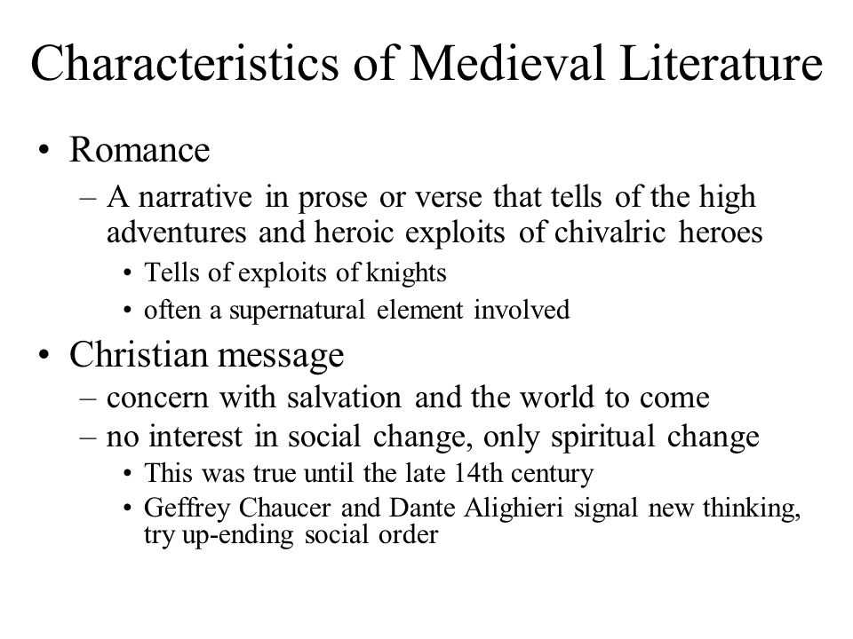 The Main Characteristics of Modernist Literature