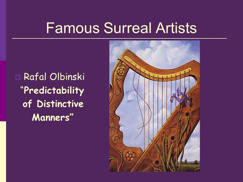 Famous Surreal Artists