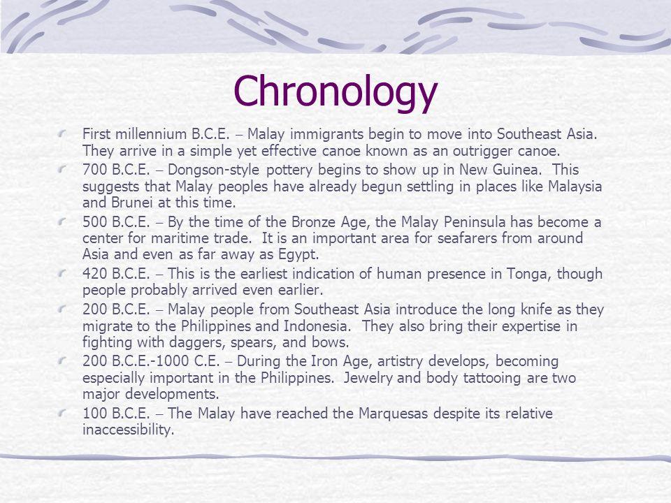 Chronology
