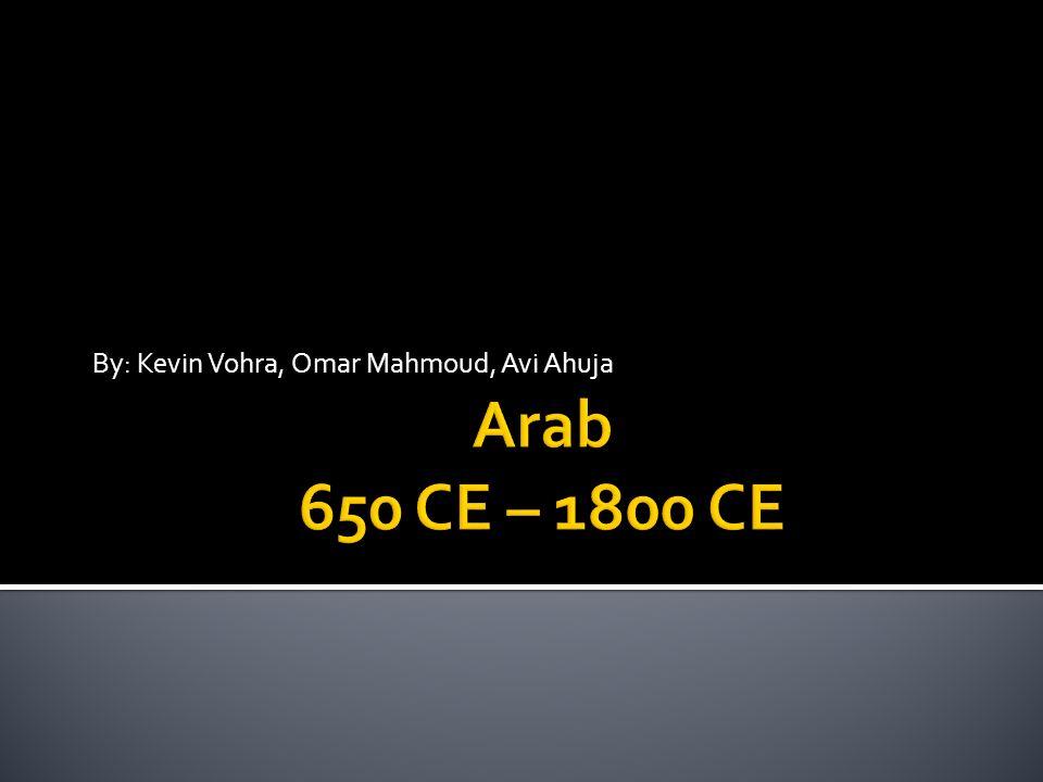 By: Kevin Vohra, Omar Mahmoud, Avi Ahuja