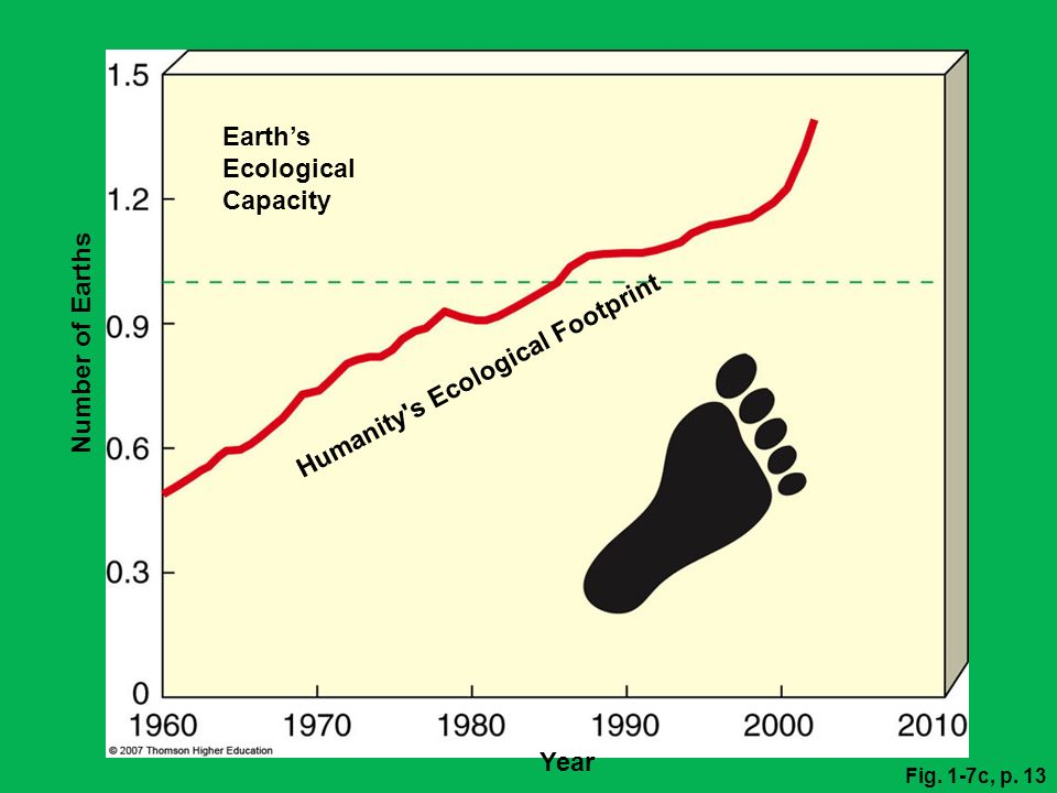 Earth's Ecological Capacity