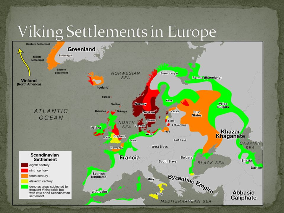 Viking Settlements in Europe