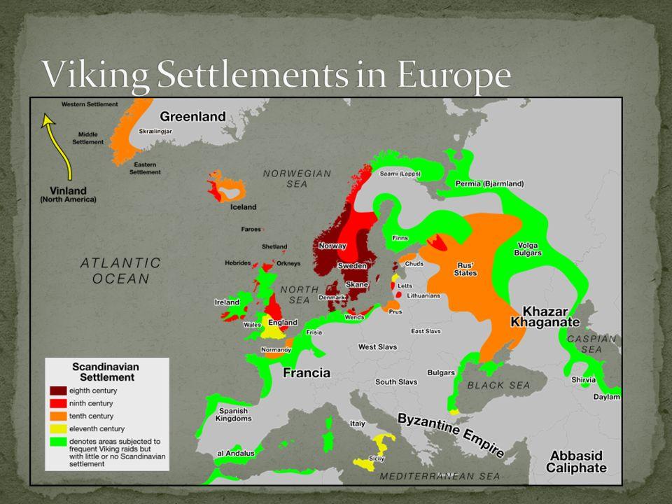 Viking Settlements in Europe
