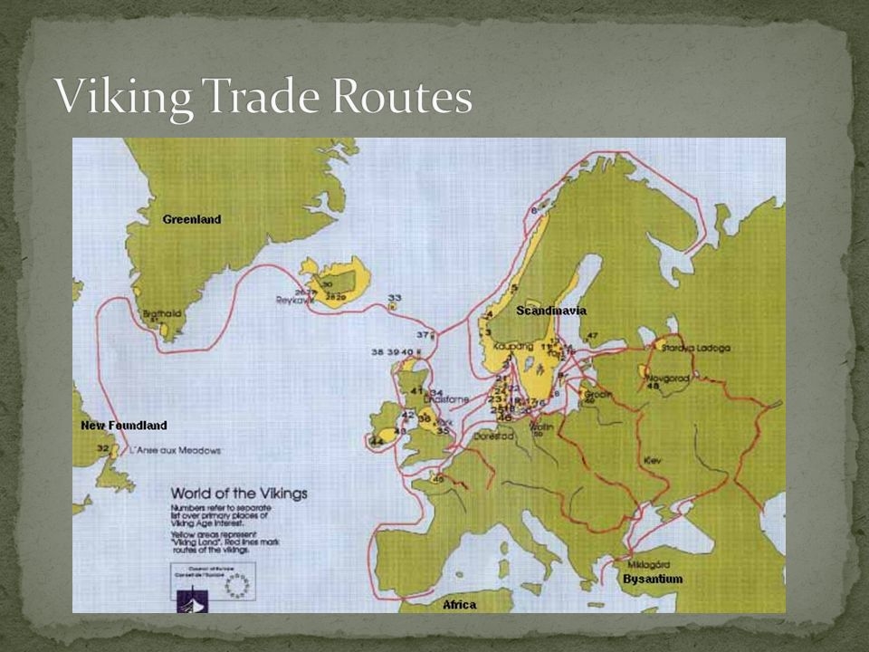 Viking Trade Routes