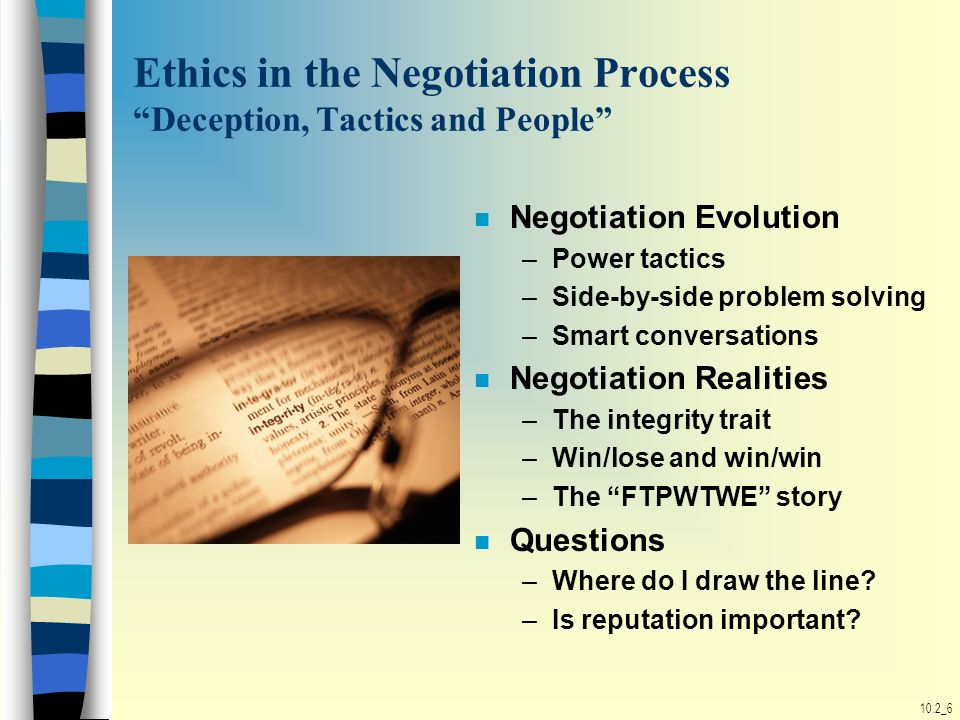 ethics and negotiation essay The student will write a 2-3 page review of a scholarly article addressing ethics and why it matters in negotiation reviews should include a synopsis and your opinion of the article.