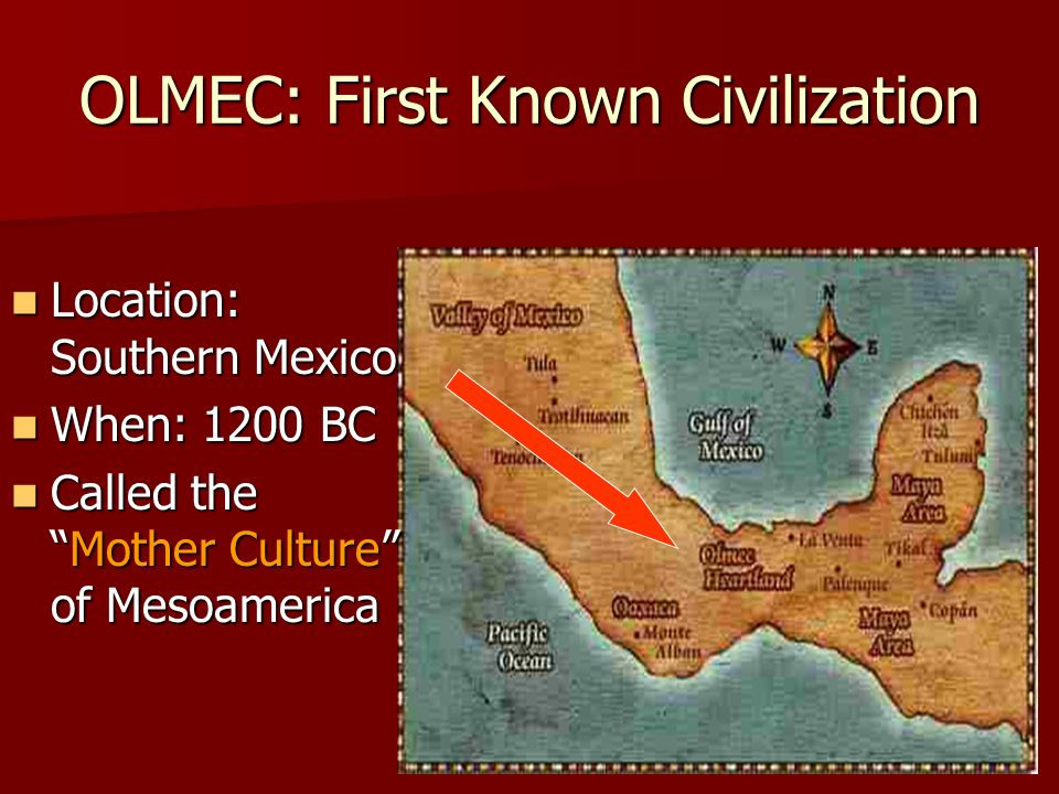 OLMEC: First Known Civilization