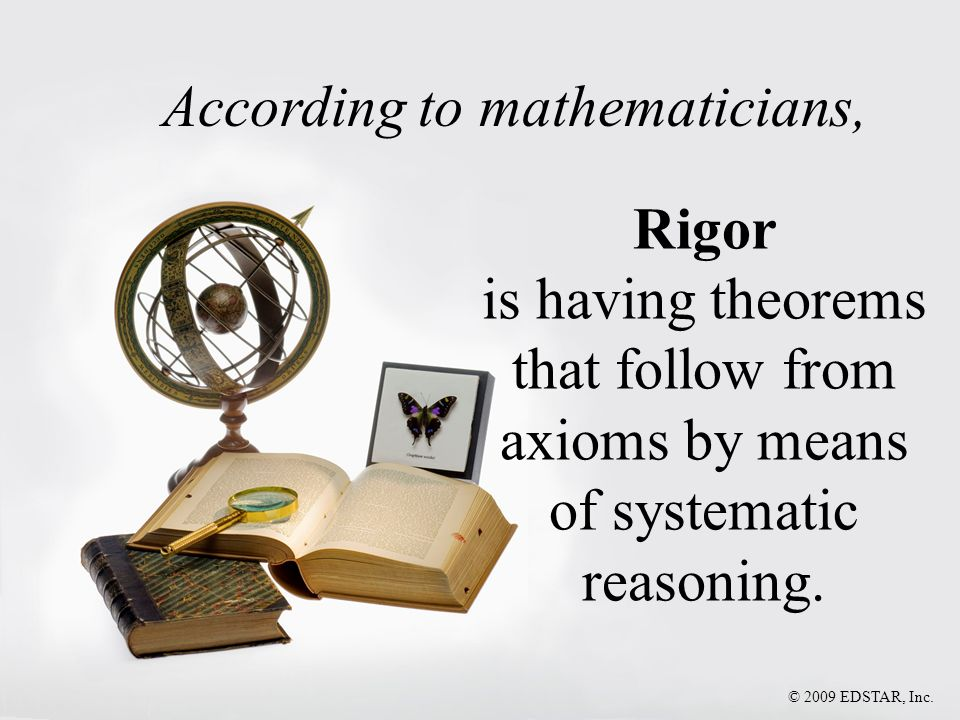 According to mathematicians,