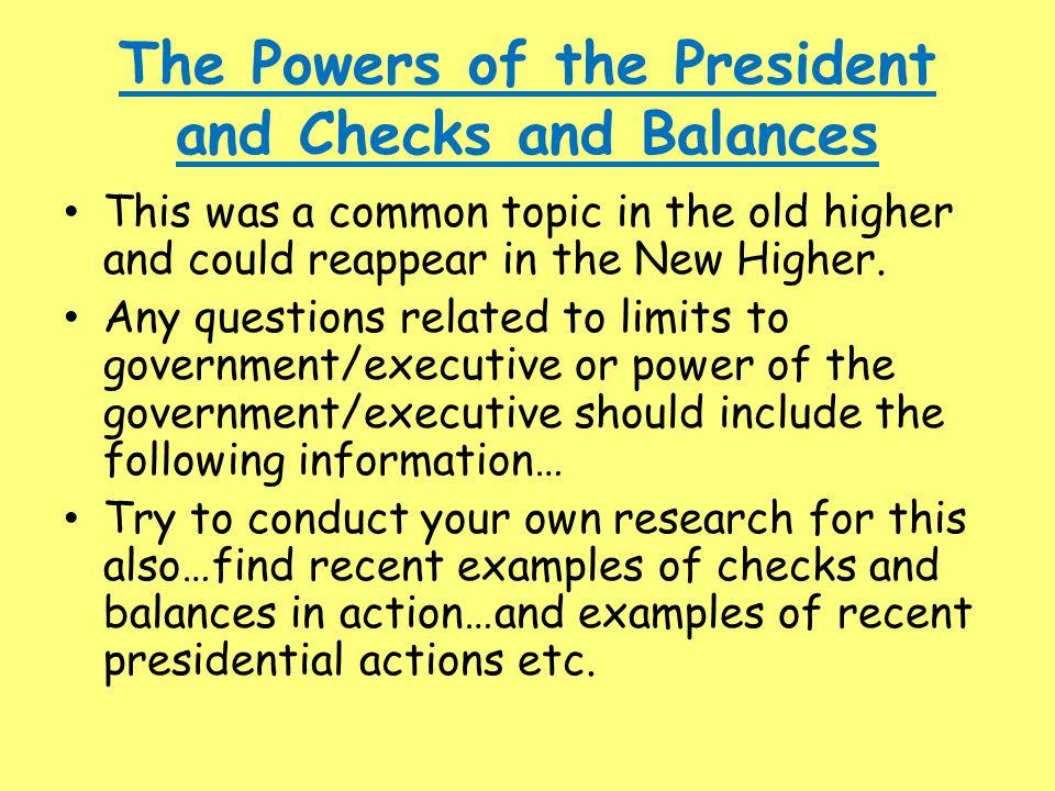 system of checks and balances dictionary