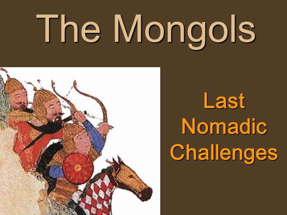 Last Nomadic Challenges
