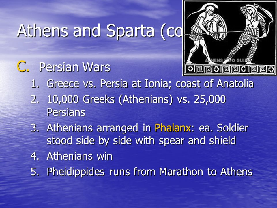 Athens and Sparta (cont'd)