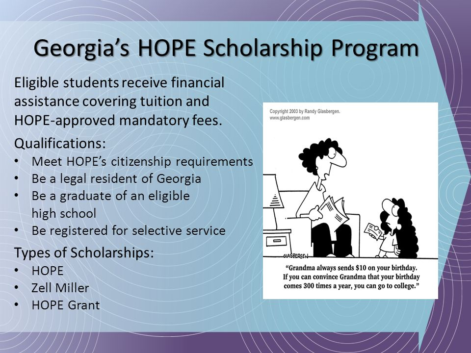 Georgia's HOPE Scholarship Program