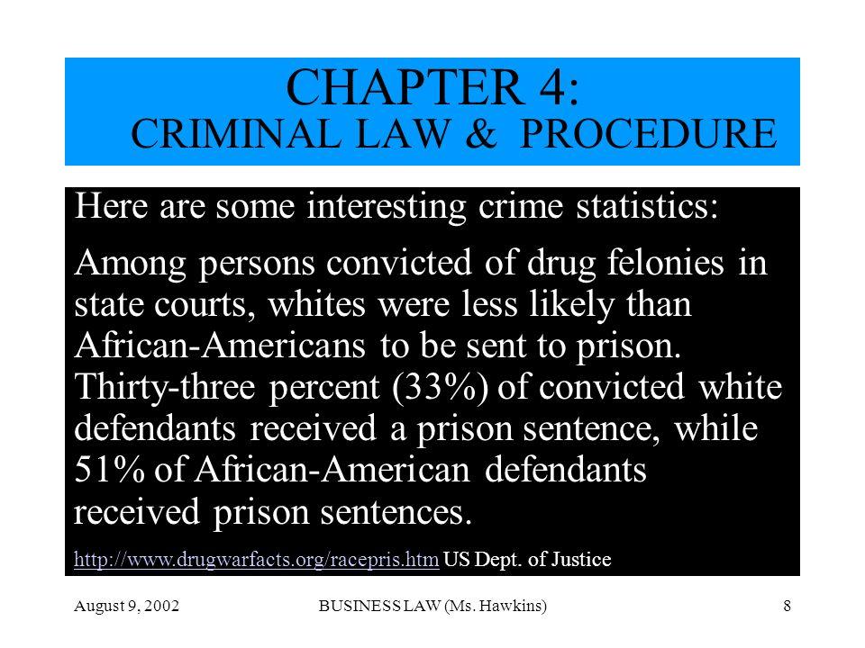 CHAPTER 4: CRIMINAL LAW & PROCEDURE