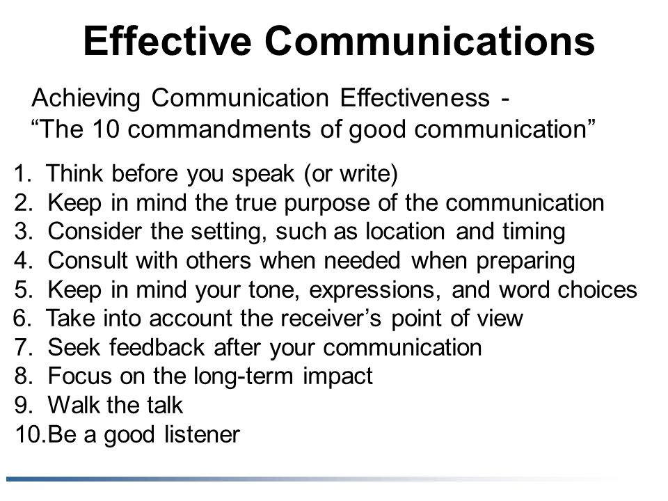 how to write effective communications Communication breakdown at work is frustrating our top 5 tips on how to ensure  effective communication at work  powerpoint presentations – what not to  write writing a novel – the hard truth → our 10-click quote.
