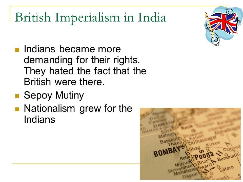 British Imperialism in India