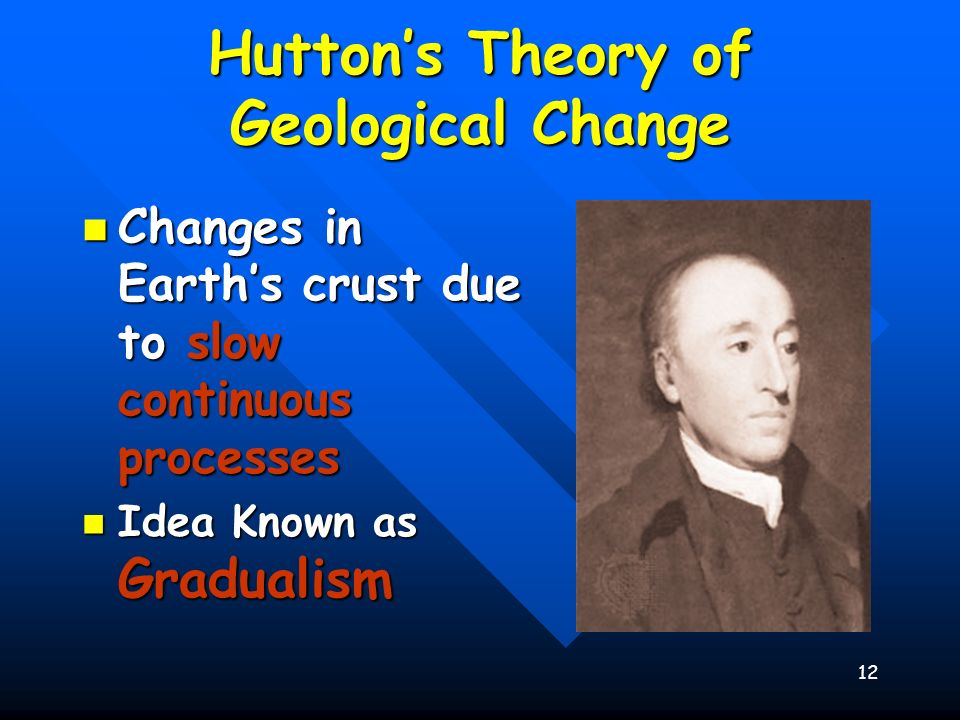 Hutton's Theory of Geological Change