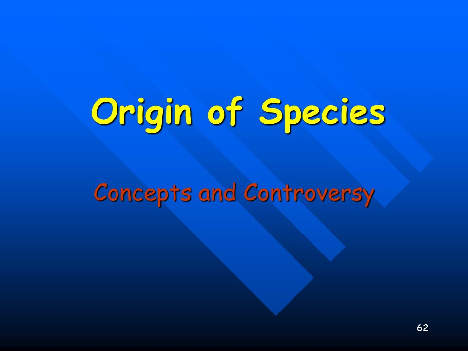 Concepts and Controversy