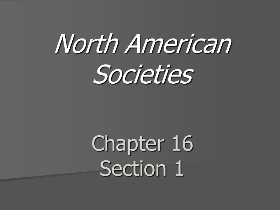 North American Societies