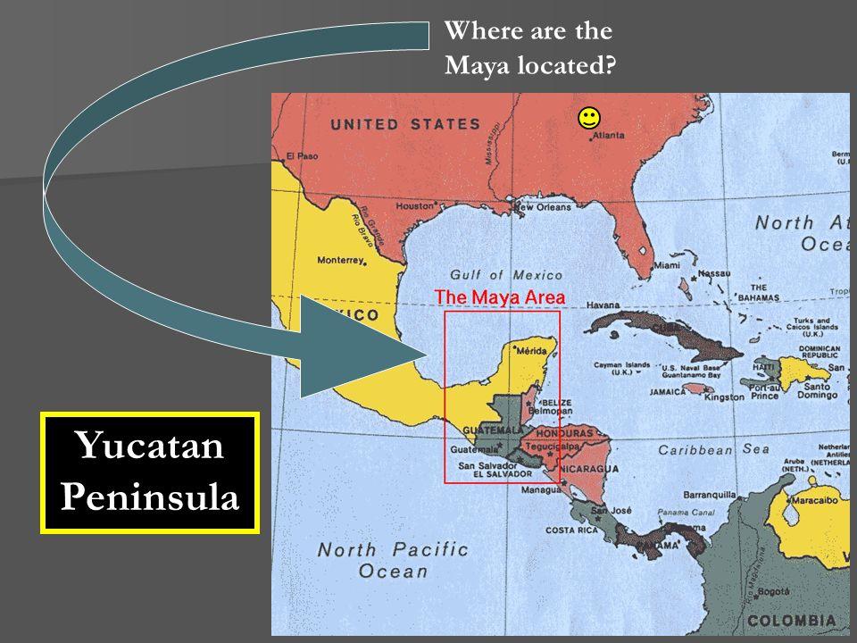 Where are the Maya located