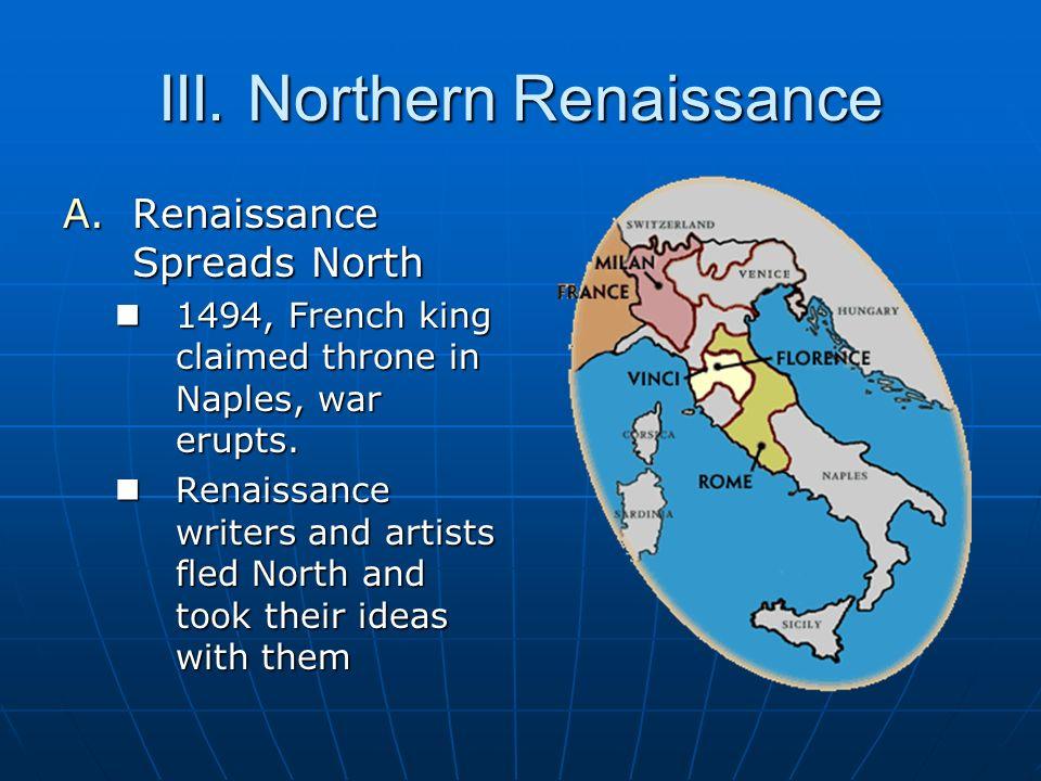 III. Northern Renaissance