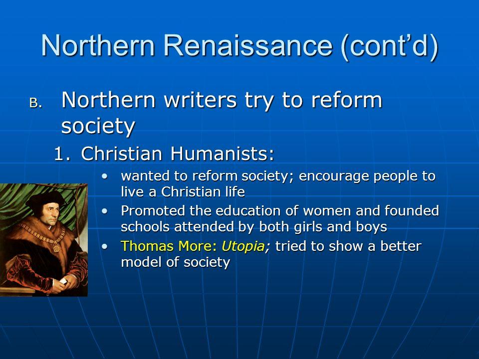 Northern Renaissance (cont'd)
