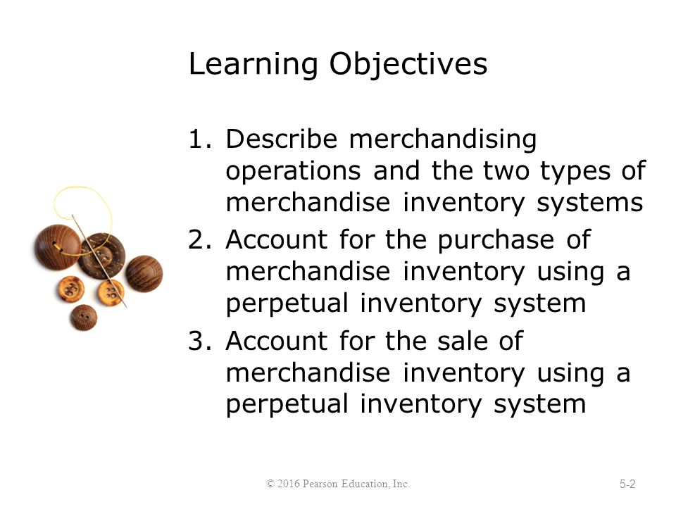 merchandising operation and merchandise inventory Accounting for merchandising operations merchandise inventory 25,000 april 5 accounts payable 25,000 recording purchases of merchandise lo 2 explain the.