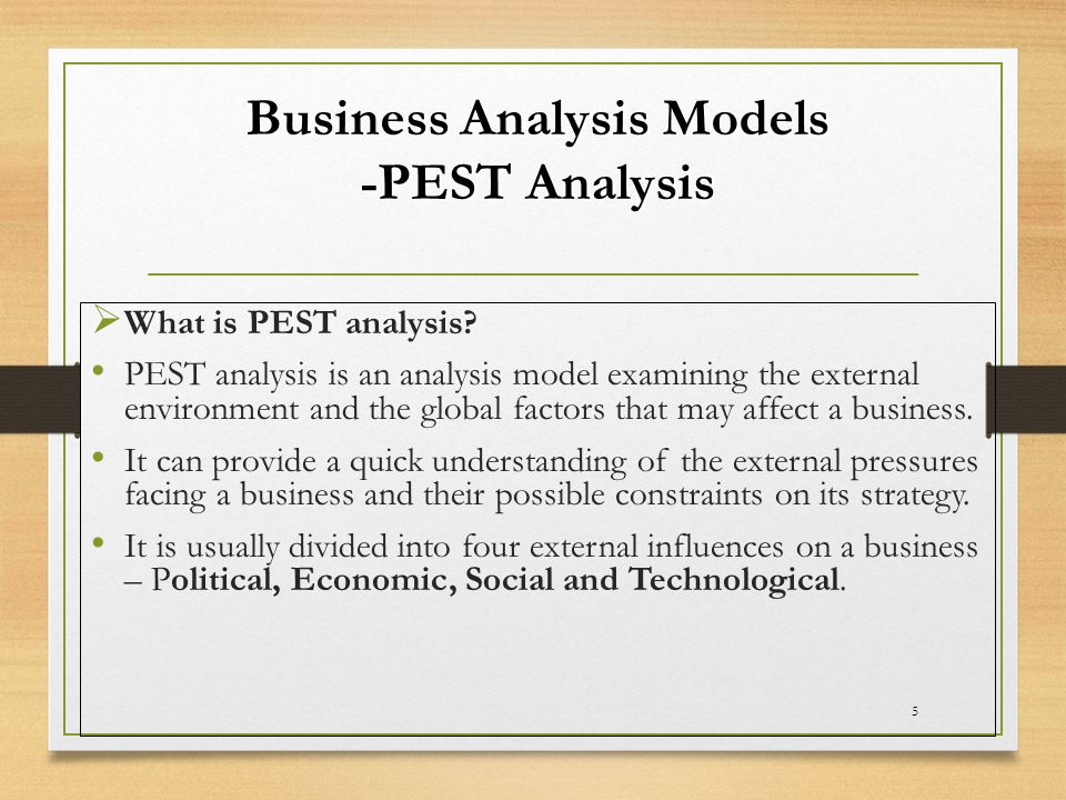 Assessment Of The Environment (Internal And External) - Ppt Video