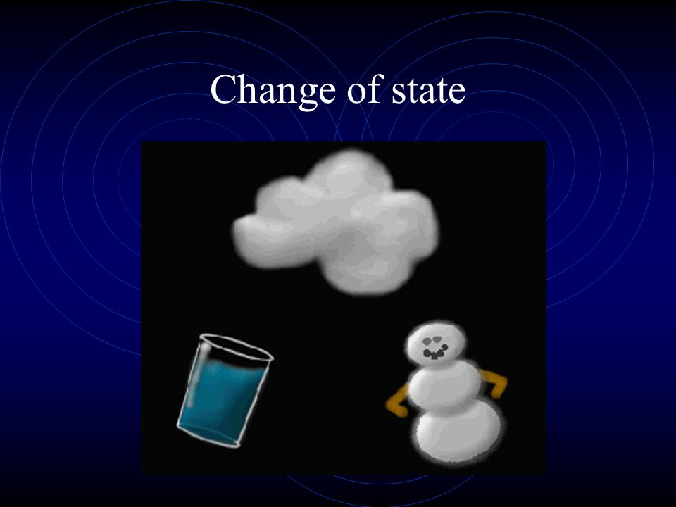 Change of state