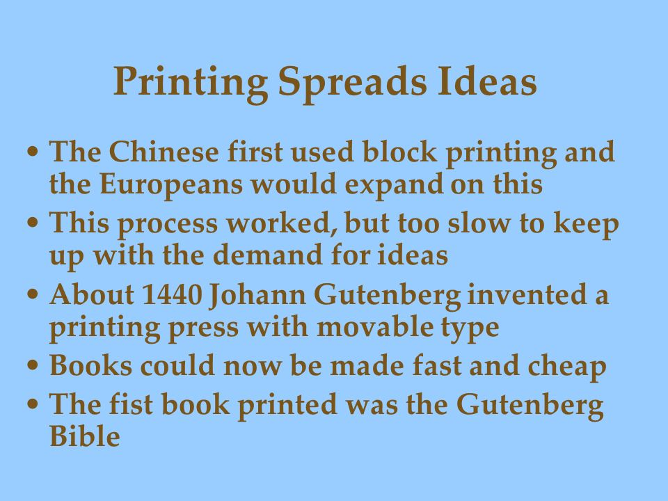 Printing Spreads Ideas