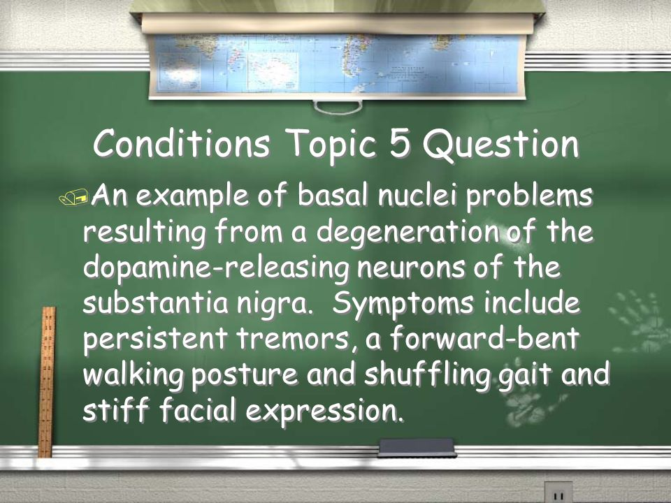 Conditions Topic 5 Question