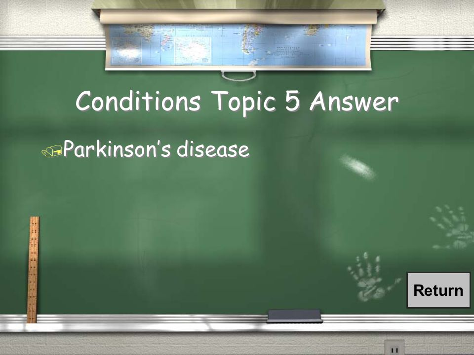 Conditions Topic 5 Answer