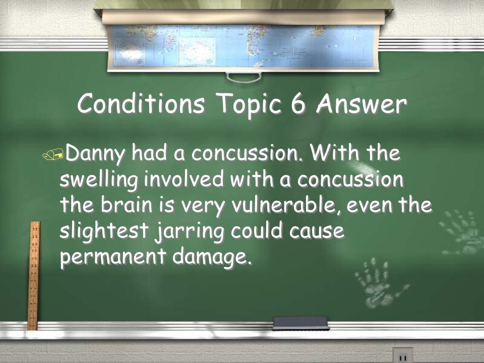 Conditions Topic 6 Answer