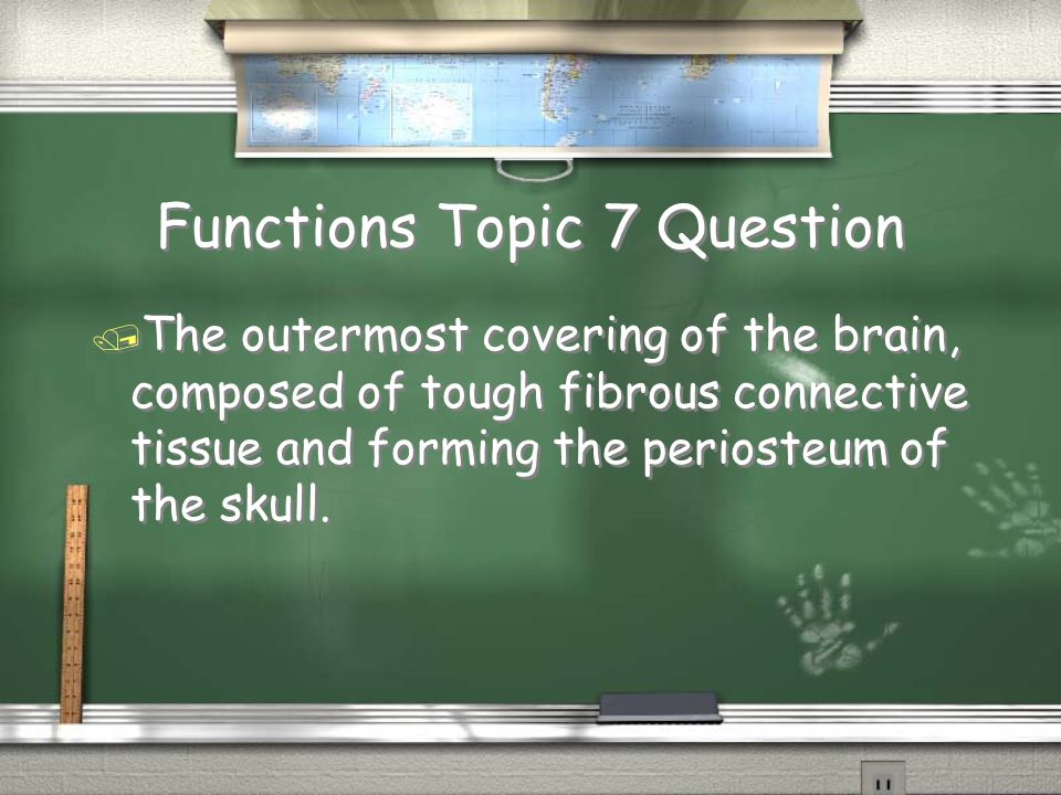 Functions Topic 7 Question