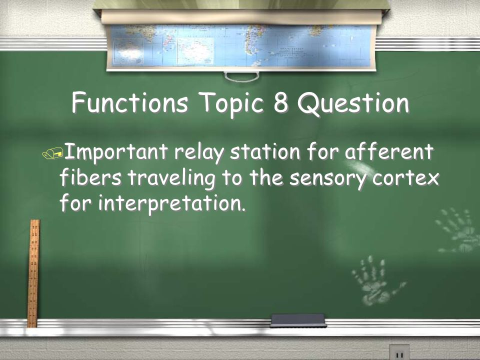 Functions Topic 8 Question