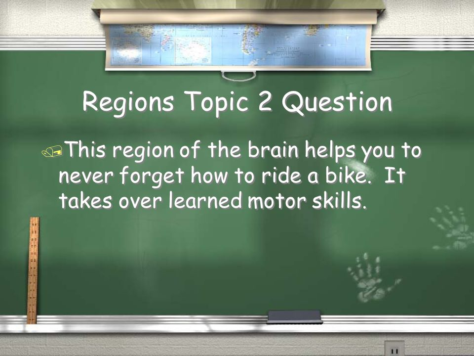 Regions Topic 2 Question
