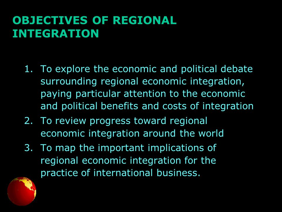 advantages and disadvantages of regional integration nafta Advantages and disadvantages of regional integration regional integration is an economic and political choice made by two or more countries to join together to form a.