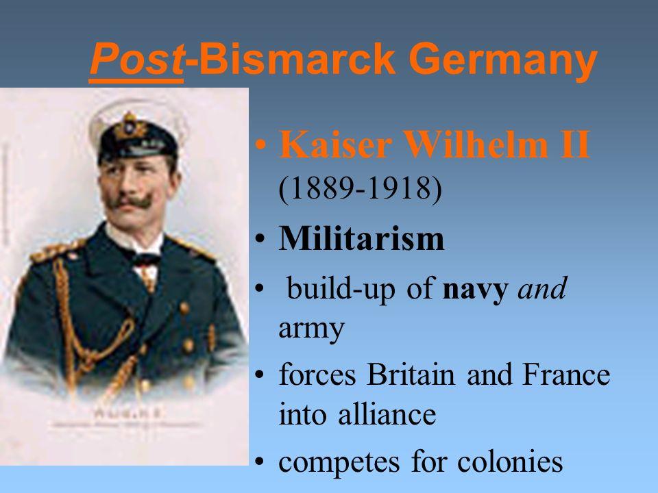 Post-Bismarck Germany