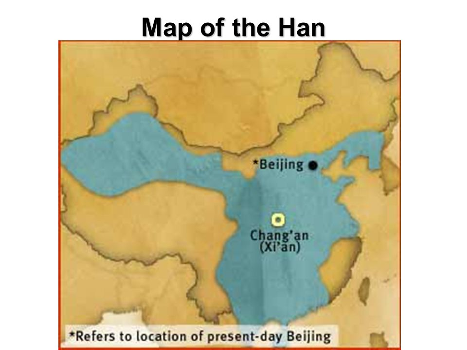 Map of the Han
