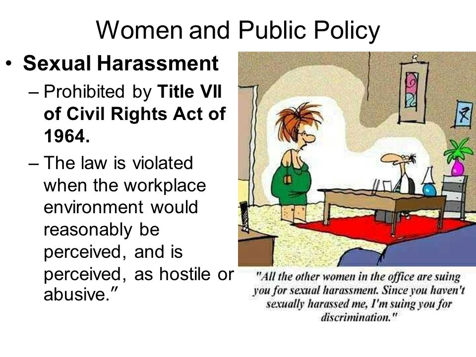 Women and Public Policy
